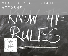Mexico  real estate attorney